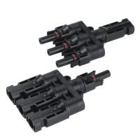 MC4 Konnektör Üçleme Bağlantı Seti (1 Dişi 1 Erkek