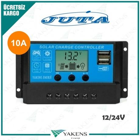 10 Amper 12/24V Solar Şarj Kontrol Cihazı Lexron