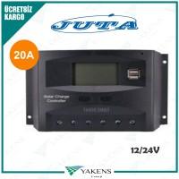 20 Amper 12/24V Solar Şarj Kontrol Cihazı Lexron