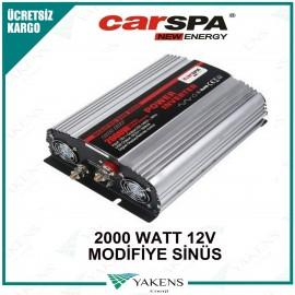 2000 Watt 12V Modifiye Sinüs İnverter Carspa