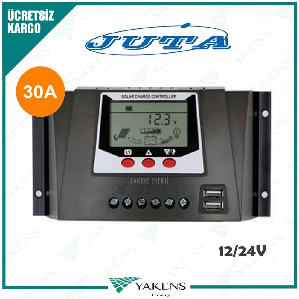 30 Amper 12/24V Solar Şarj Kontrol Cihazı Lexron