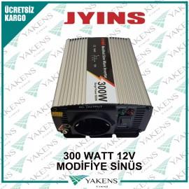 300 Watt 12V Modifiye Sinüs İnverter Jyıns