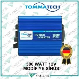 300W 12V Modifiye Sinüs İnverter Tommatech