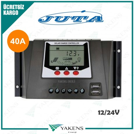 40 Amper 12/24V Solar Şarj Kontrol Cihazı Lexron