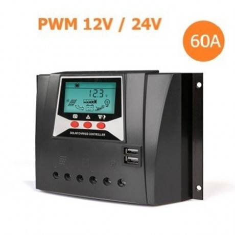60 Amper 12/24/48V Solar Şarj Kontrol Cihazı Lexron