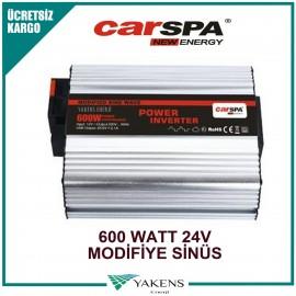 600 Watt 24V Modifiye Sinüs İnverter Carspa