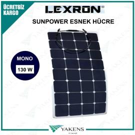130 Watt Esnek Güneş Paneli Lexron