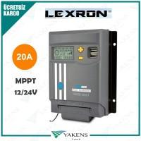 20 Amper Mppt 12/24V Solar Şarj Cihazı Lexron